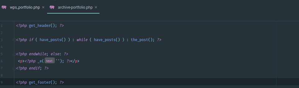 код для вывода записей