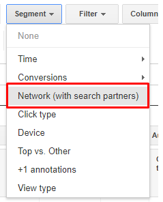 Network with search partners