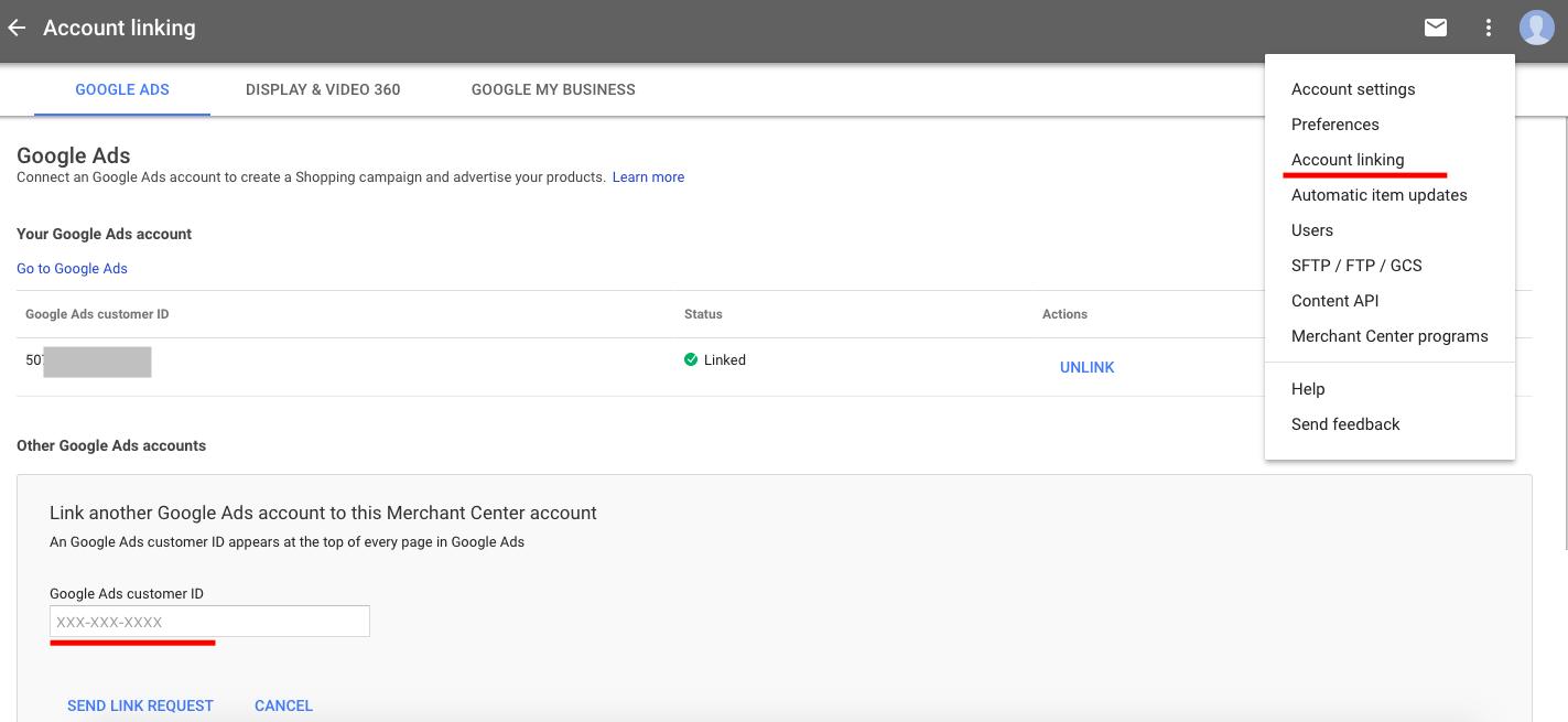 продуктовый фид Google Merchant Google динамический ремаркетинг
