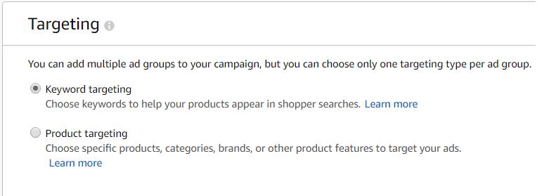 Таргетинг в рекламных кампаниях Amazon PPC