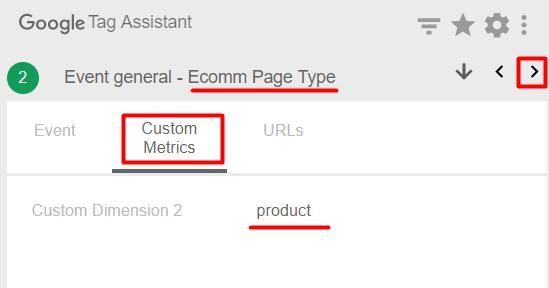 Custom metrics product