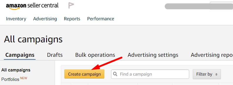 Настройка рекламных кампаний Amazon