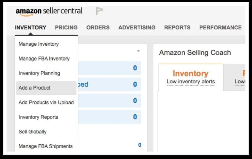 Как сделать листинг для нового товара на Амазон