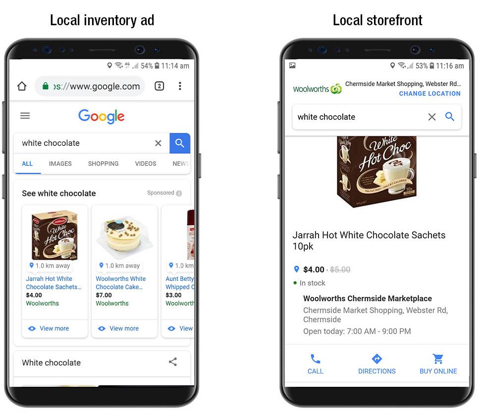 Локальные объявления Google Ads
