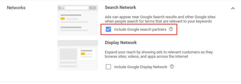 Настройка мест показа рекламы в Google Ads