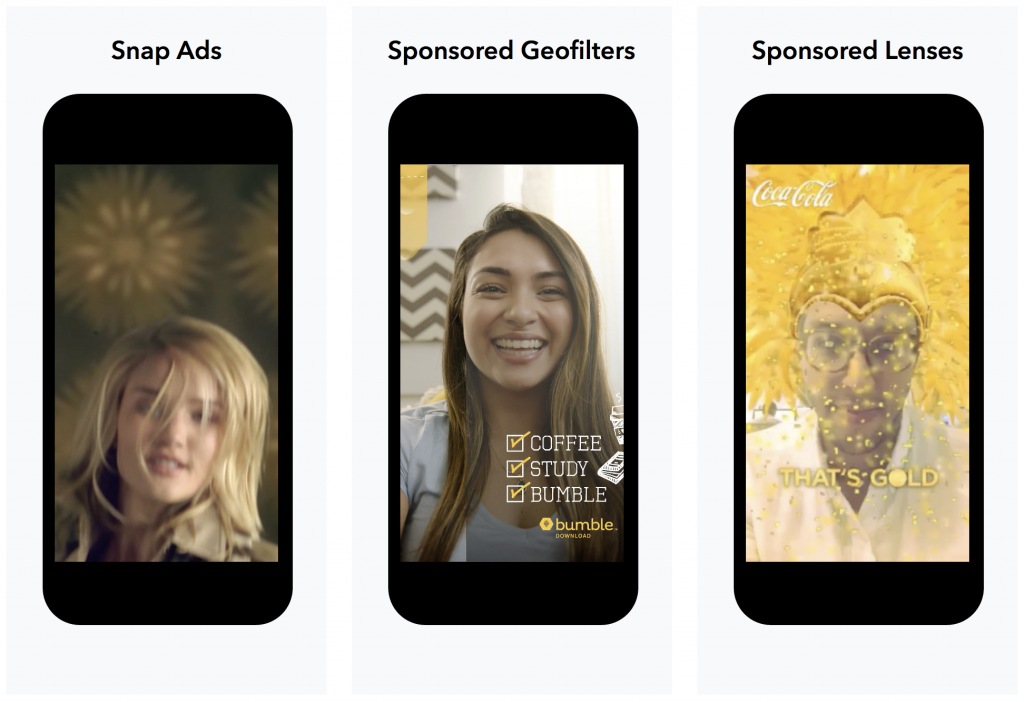 Объявления в Snapchat