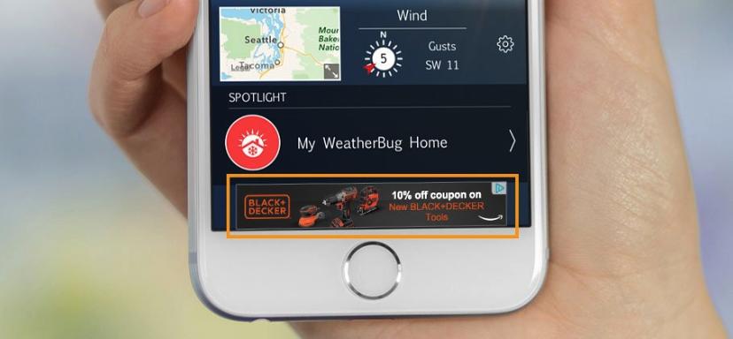 Реклама Mobile App