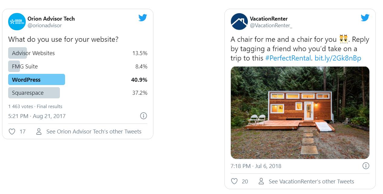 Продвигаемые твиты. Реклама в Твиттере
