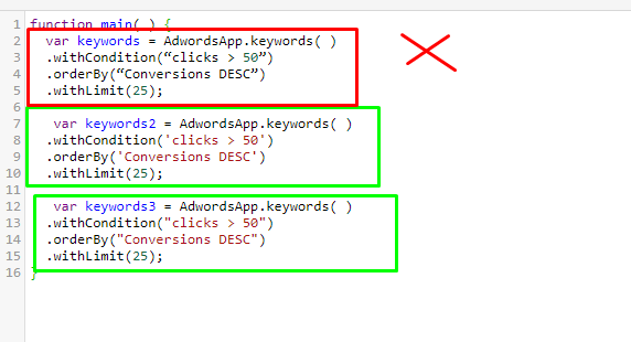 Приклад коду