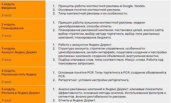 Программа курса GUSAROV