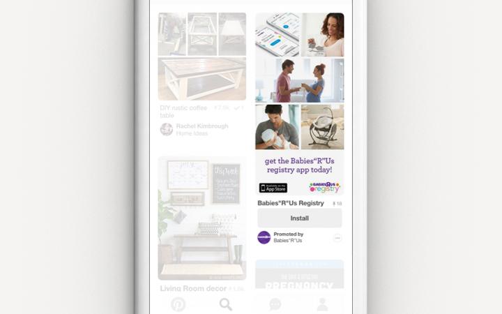 Объявления Promoted App Pins на Пинтересте
