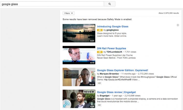 Типы рекламы на Youtube