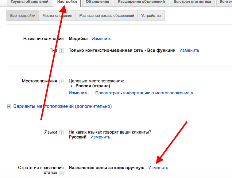 Стратегия Adwords 2
