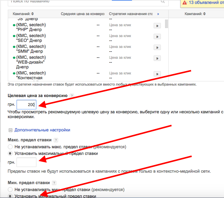 Стратегия Adwords 6